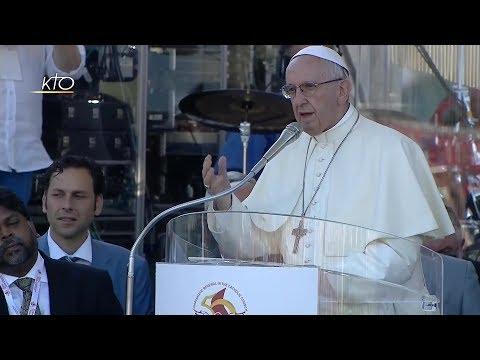 Le Jubilé d'Or 2017 – Veillée de Pentecôte avec Pape François pour l'unité entre Chrétiens Charismatiques