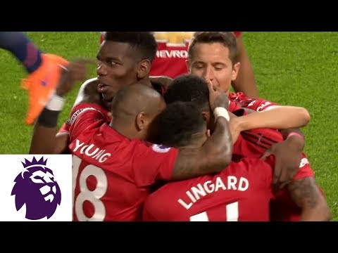 Video: Rashford creates goal for Pogba to put Man United ahead v. Bournemouth | Premier League | NBC Sports