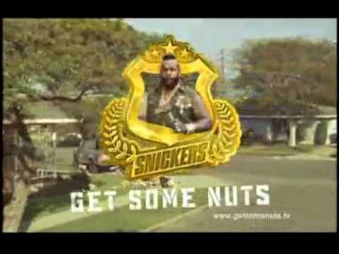The Extended Snickers Commercials of Mr.T (Full Version)