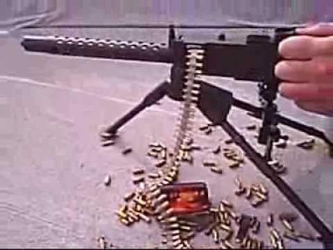 超小迷你機關槍,威力不比一般啊!!