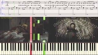 Лепс - Господи, дай мне сил (Ноты для фортепиано) (piano cover)
