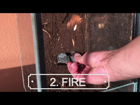Terrarium Background DIY || LTG vs. Epoxy System 2/2 || SCRAPING/FIRE/WATER - TEST