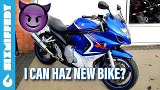 8. I Can Haz New Motorcycle? 2009 Suzuki GSX650F