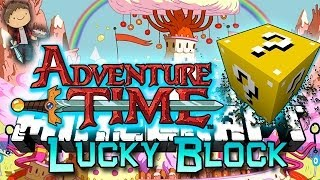 Minecraft: Adventure Time Lucky Block PVP Edition! Modded Mini-Game w/Mitch&Friends!