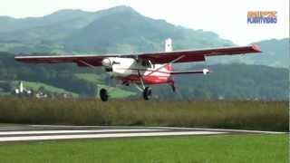✈ Nice Short Takeoff - STOL Pilatus Porter PC-6 - Patrouille Suisse At Wangen-Lachen