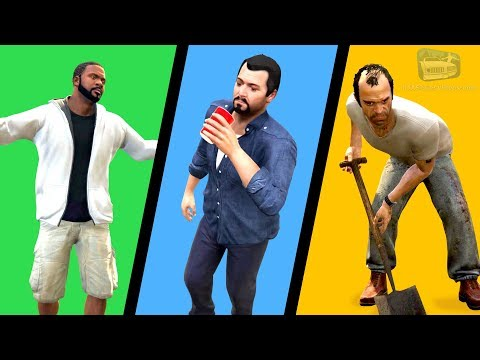 GTA 5 - All Character Switch Scenes