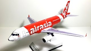 Video 1:100 Paper Model/ Papercraft of the Air Asia's Airbus A320-200 (Making) MP3, 3GP, MP4, WEBM, AVI, FLV Juni 2018