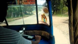 Tuk-tuk Ride In Gondar, Ethiopia