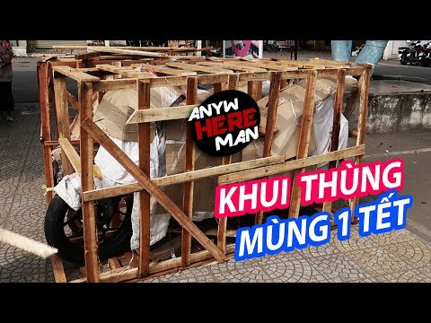 Khui thùng xe PKL ngày mùng 1 tết tại Ga Đà Nẵng | Anywhere Man - Thời lượng: 6 phút, 59 giây.