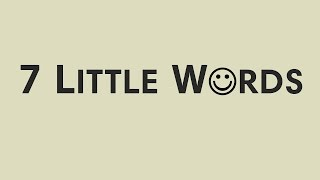 7 Little Words YouTube video