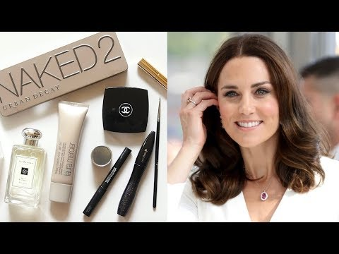 Kate Middleton Makeup Bag | Rosy Look and Royal Wedding Lipstick