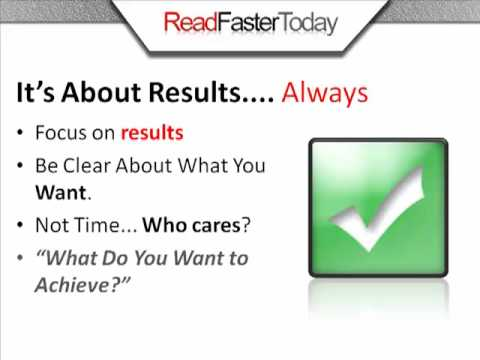 Plan - Learn how to achieve outstanding results EVERYDAY. Watch the quick video and see the difference. http://www.readfastertoday.com.