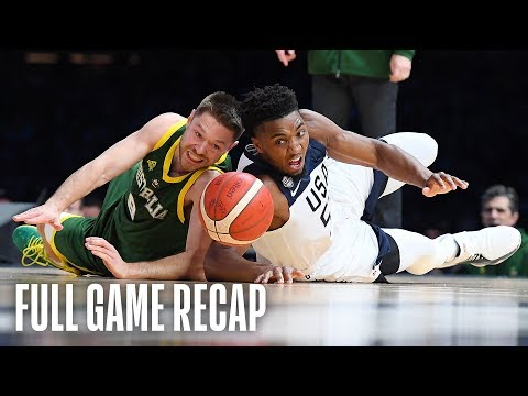 Video: USAB Men's National Team vs. Australian Boomers Team Exhibition | August 22, 2019