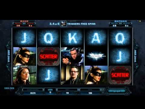The Dark Knight Rises Pokies - Free Spins and Features - Fun Video Slots