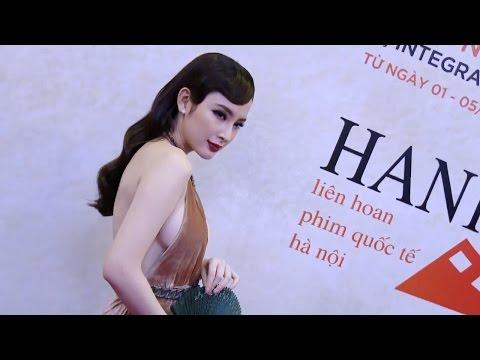 Mỹ Linh, Chi Pu, Angela Phương Trinh, Lý Nhã Kỳ đọ vẻ sexy trên thảm đỏ LHP Quốc Tế Hà Nội