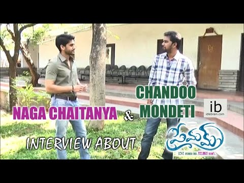 Naga Chaitanya & Chandoo Mondeti interview about Premam
