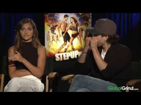 Alyson Stoner - The cast of Step Up All In sit down with GlobalGrind's Mercedeh Allen to discuss returning to the world of Step Up, the biggest dance crazes & more.