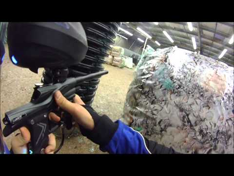 Paintball Game Play: Switching Guns
