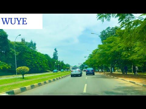 4K DRIVE THROUGH WUYE ABUJA IN 2021 | ROAD VLOG |