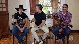 Entrevista com a dupla Pedro Sanchez e Thiago - Visita Record