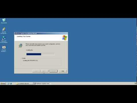 MS Windows Server 2003 Enterprise Edition Service Pack 2 installation