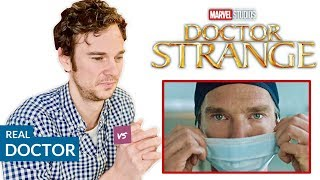 Video Real Doctor reacts to DOCTOR STRANGE | Hospital Movie Scenes Review MP3, 3GP, MP4, WEBM, AVI, FLV Mei 2019