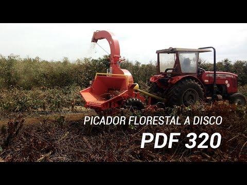 Picador Florestal a Disco PDF 320 HDR-EA