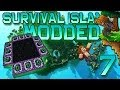 Minecraft: Modded Survival Island Let's Play w/Mitch! Ep. 7 - STRONGHOLD!