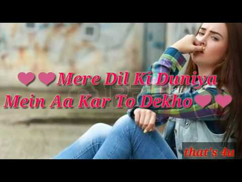 Video Mere dil ki duniya mein aa kr to dekho song whatsapp status||Rahat Fateh Ali Khan song status download in MP3, 3GP, MP4, WEBM, AVI, FLV January 2017