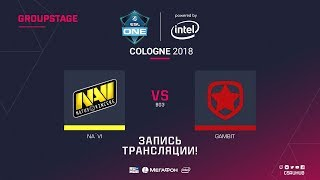 Na`Vi vs Gambit - ESL One Cologne 2018 - map1 - de_overpass [Enkanis, CrystalMay]