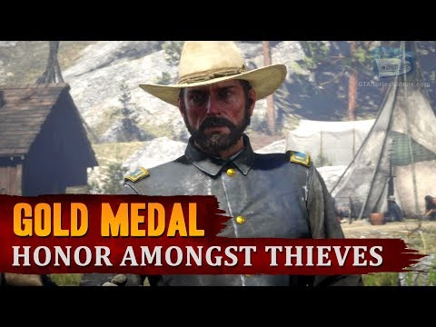 Download Red Dead Redemption 2 - Mission #76 - Honor Amongst Thieves [Gold Medal] MP3