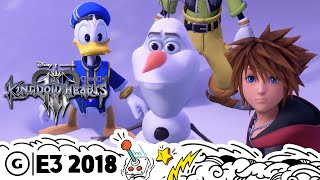 Video Kingdom Hearts 3 Goes Deeper Into Disney's Worlds Than Some of the Movies | E3 2018 MP3, 3GP, MP4, WEBM, AVI, FLV Juni 2018