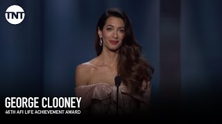 Video Amal Clooney Tribute to George   AFI 2018   TNT MP3, 3GP, MP4, WEBM, AVI, FLV Agustus 2019