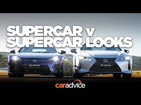 Lexus LC500 and Lexus LFA: It just made sense!