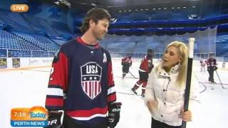 Perth (ON) Canada  city photos gallery : USA V Canada Ice Hockey Perth Arena 2015 Part 1 | Today Perth News