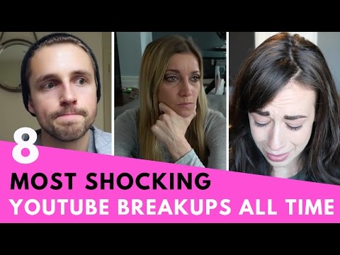 8 Most SHOCKING YouTube Breakups