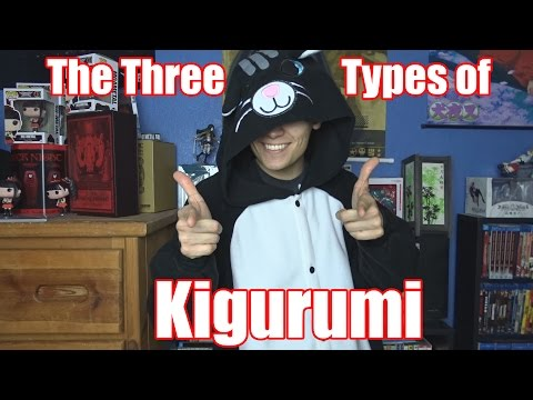 These are the 3 types of Kigurumi!