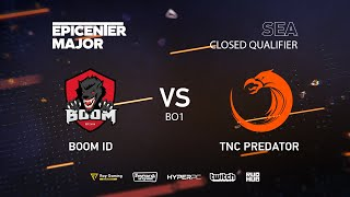 BOOM ID vs TNC Predator, EPICENTER Major 2019 SA Closed Quals , bo1 [kvyzee]