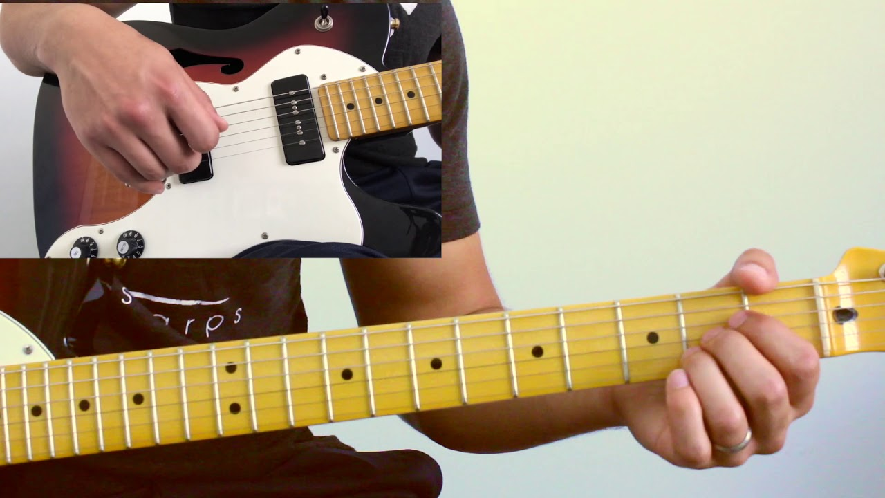 """Footloose"" – Guitar Breakdown"