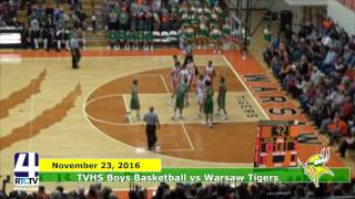 TVHS Boys Basketball vs. Warsaw Tigers