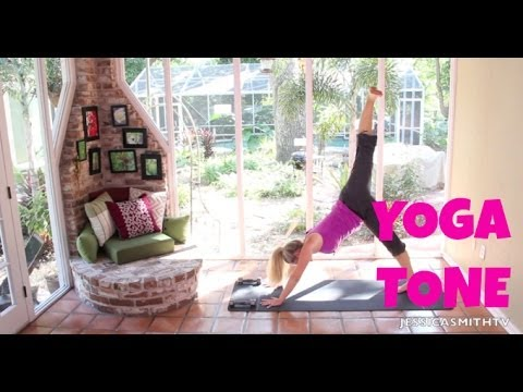 Yoga For Weight Loss – 40 Minute Fat Burning Yoga Tone Workout