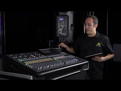 X32 Digital Consoles - Remote Control Setup