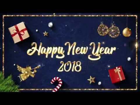 สวัสดีปีใหม่ 2561 และ Happy New Year 2018 จาก Major Group