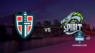 Team Spirit vs Espada, ESL Closed Quals EU, bo3, game 2 [Maelstorm & Jam]
