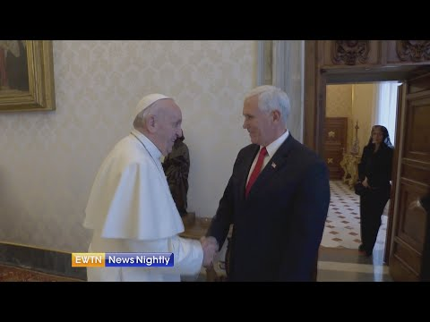 Exclusive Vice President Pence tells EWTN News about meeting with Pope Francis