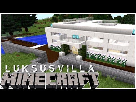 Moderne luksusvilla i Minecraft!