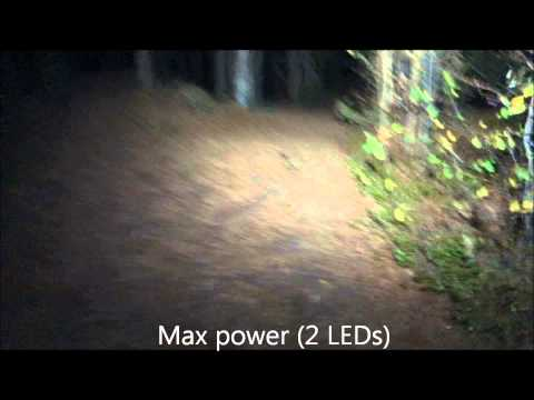 Field test of head torch / headlamp Trail Speed Elite from Silva