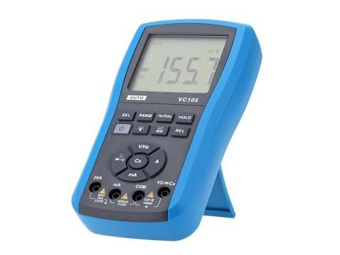 Extremely well built yet extremely cheap!! VC105 Multimeter (madness!) Review
