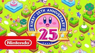 It's Kirby's 25th anniversary! From Game Boy to Nintendo Switch, the pink puffball has come a long way in 25 years!#Kirby #NintendoOfficial Website:http://www.nintendo.co.uk/Games/Nintendo-Characters-Hub/Kirby-Hub/Kirby-Hub-627603.html?utm_medium=social&utm_source=youtube&utm_campaign=Kirby%7C25Anniversary%7Cw33Facebook Nintendo 3DS: https://facebook.com/Nintendo3DSTwitter Nintendo UK: https://facebook.com/NintendoUKTwitch Nintendo UK: https://twitch.tv/NintendoUKInstagram Nintendo UK: https://instagram.com/NintendoUKYouTube Nintendo UK: https://bit.ly/2cREWfu