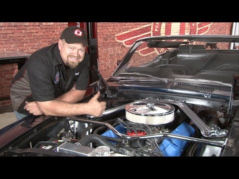Mustang Ford Racing Ready to Run 340 HP 306 Cubic Inch Crate Engine Installation 1965-1993